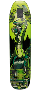 The Madrid Nessie Longboard skateboard