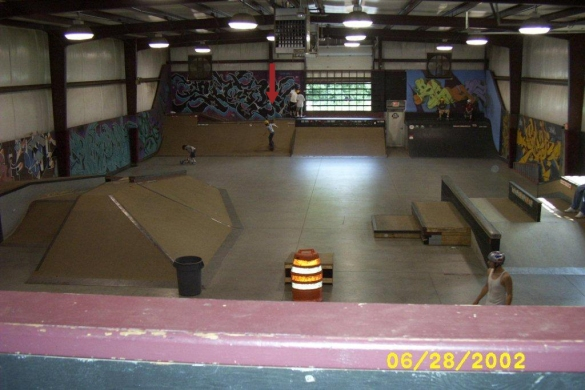 Throwback Thursday!! My first indoor park experience.